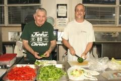 Preparing for Deacon Paul J. Makar's Luncheon